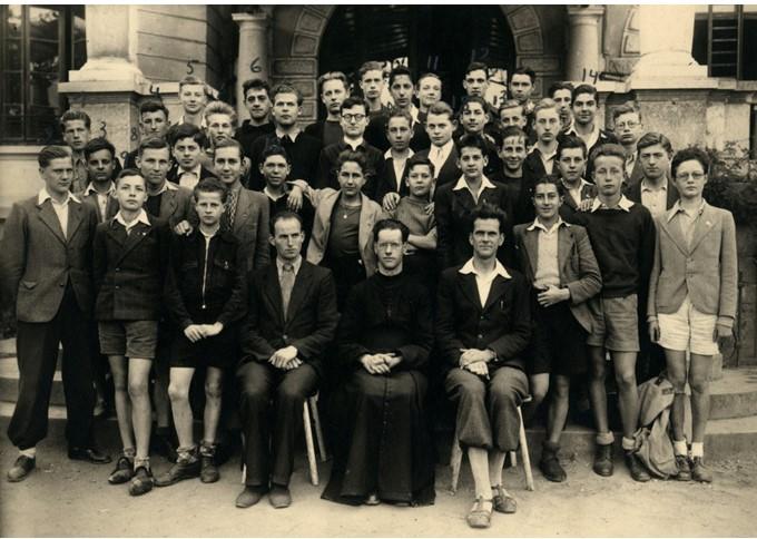 La classe du Père Vigoureux en 1943-1944