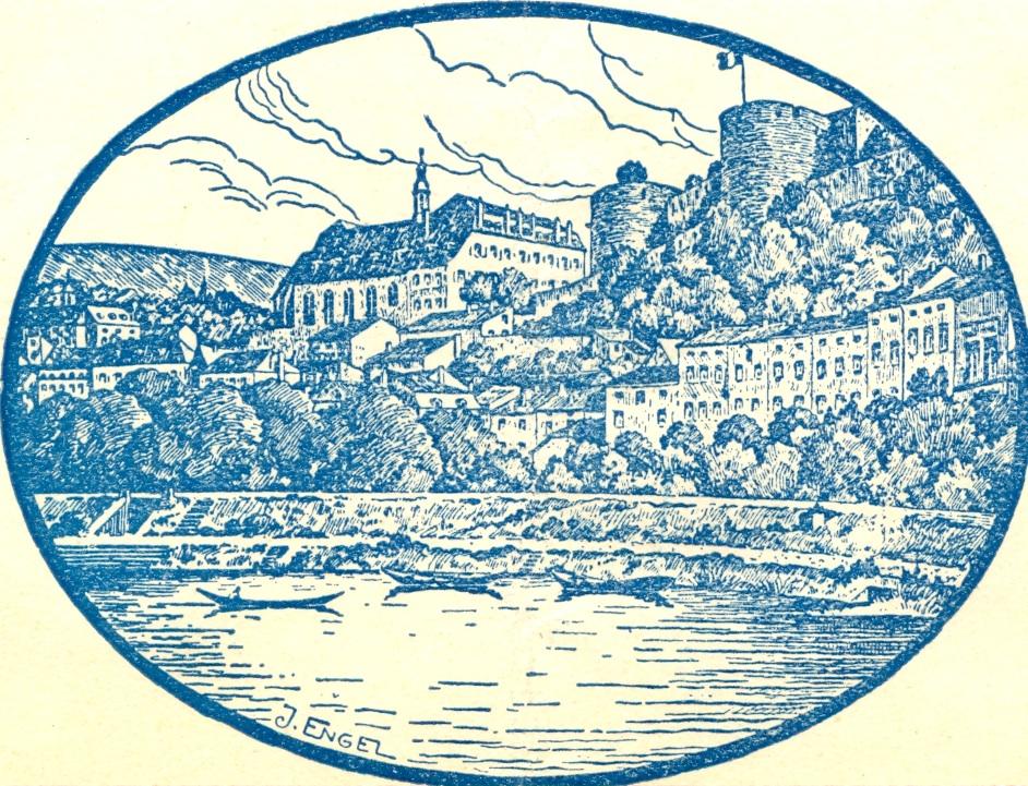 La chapelle et le cloître (gravure Engel)