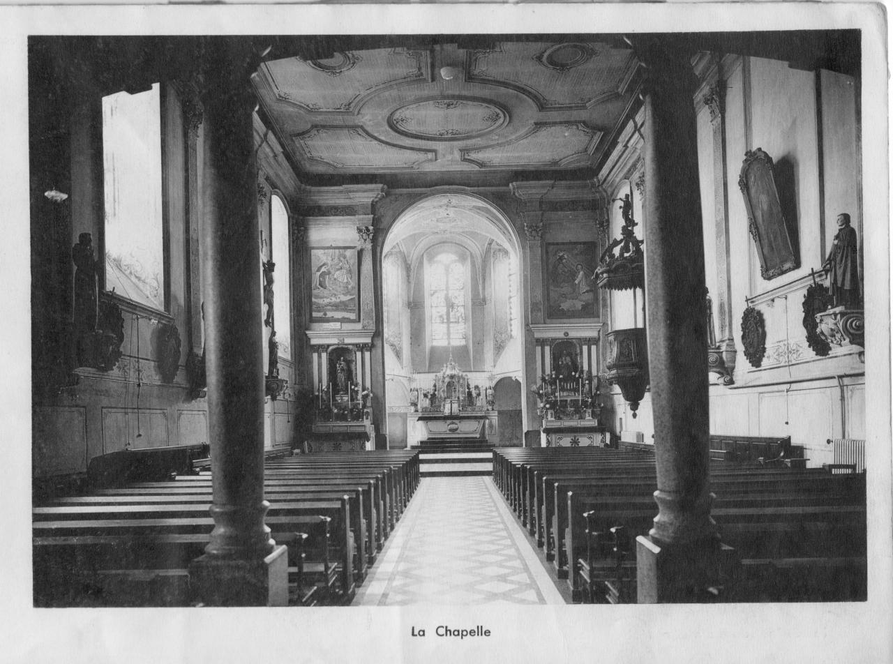 la chapelle dans les années 30