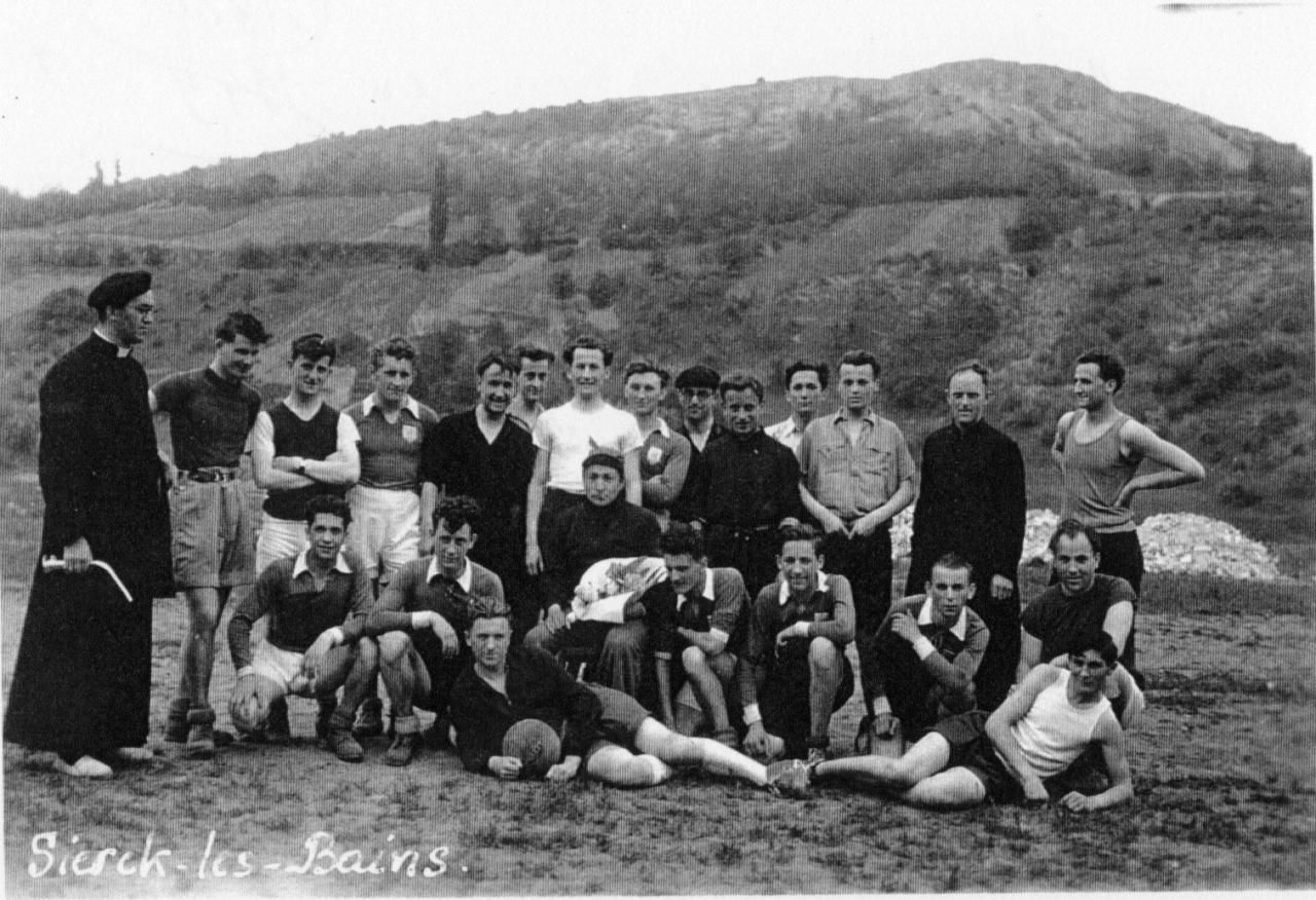 match profs-élèves en 1948
