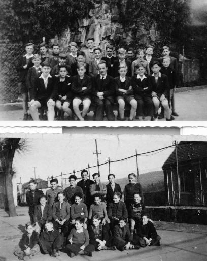 classe  vers 1947