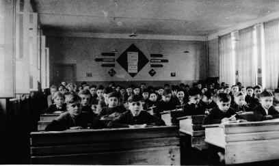 Etude des moyens  vers 1947