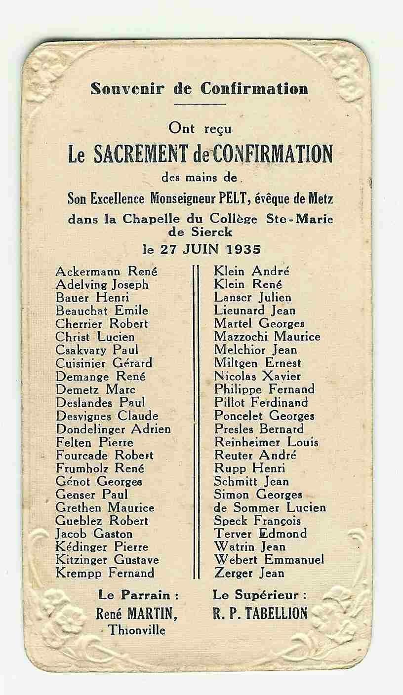 Confirmation 1935 2 l