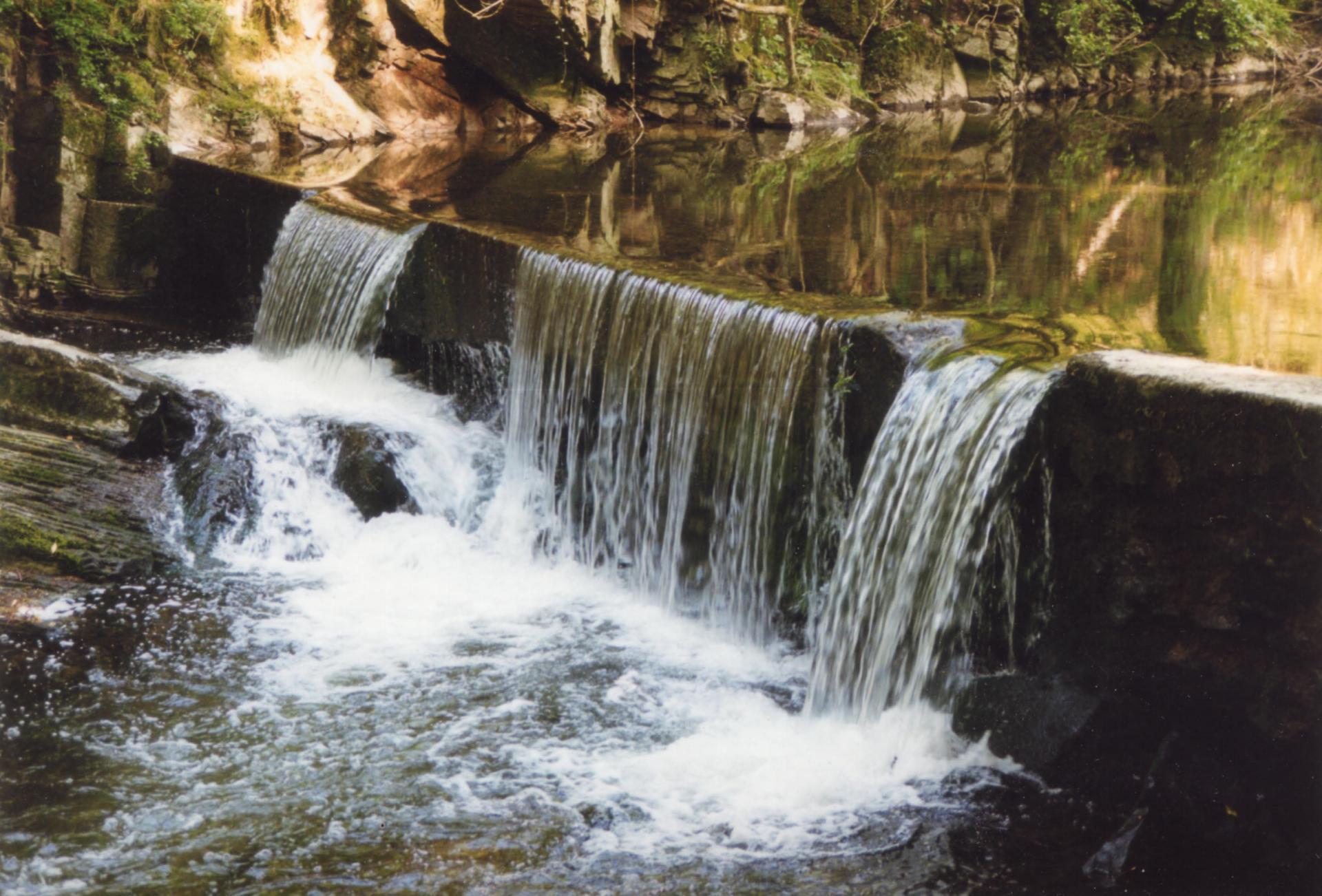 Le barrage du vieux moulin