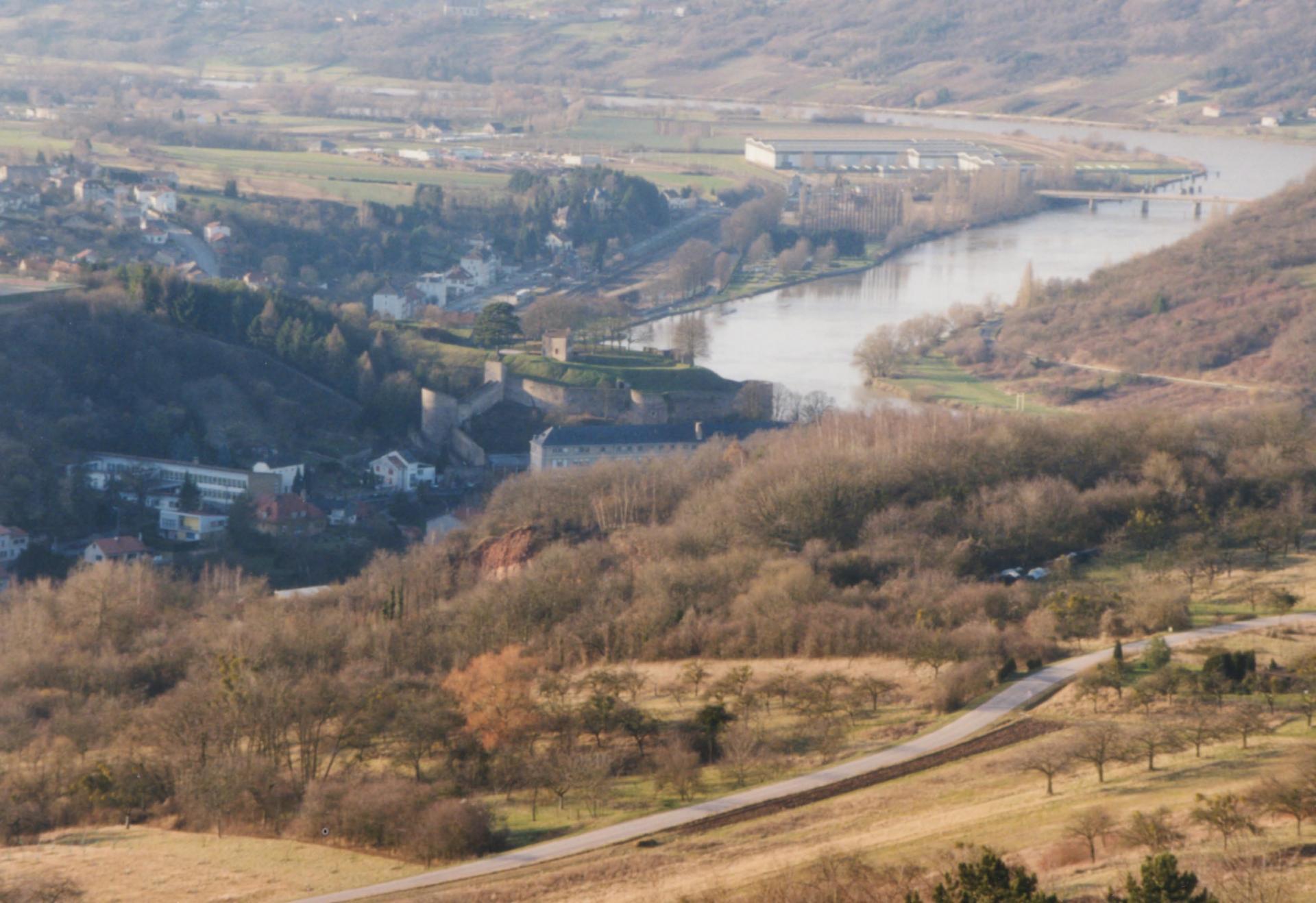 Moselle en amont  de Sierck