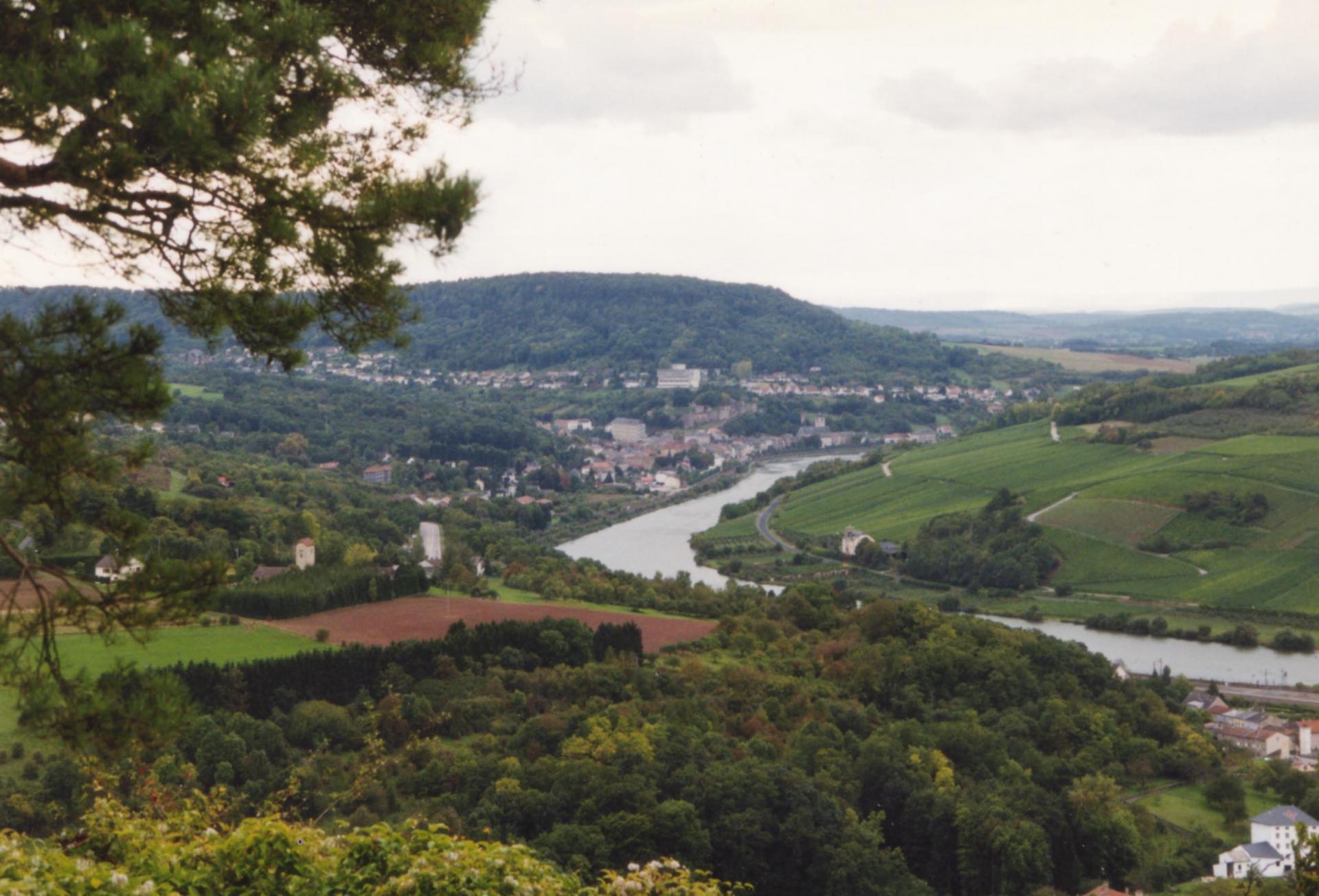 Moselle à Sierck