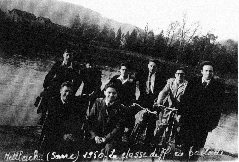 Mettlach :classe de Philo en 1950